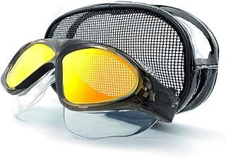 LE'DIVE Swim Goggles - Swimming Mask, Anti Fog No Leaking UV Protection Wide View Swim Glasses