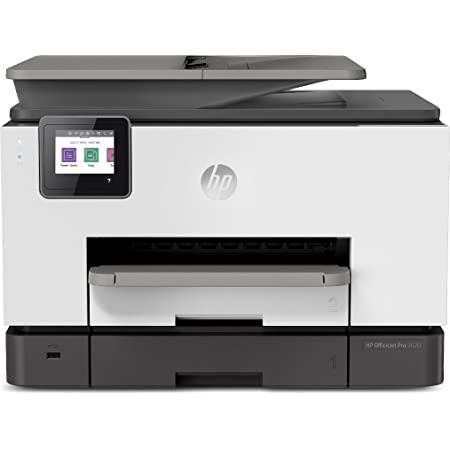 HP OfficeJet Pro 9020 (1MR78B) Stampante Multifunzione a Getto di Inchiostro, Stampa, Scansiona, Fotocopia, Fax, Wifi, A4, HP Smart, Smart Tasks, 6 Mesi di Instant Ink Inclusi nel Prezzo, Nero