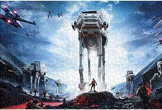 YYCCUI Puzzle de 1000 pièces Star Wars Puzzle Classique 1000 pièces Jouets de Divertissement à Domicile Bricolage pour Ado...