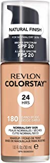 Best Revlon ColorStay Makeup for Normal/Dry Skin SPF 20, Longwear Liquid Foundation, with Medium-Full Coverage, Natural Finish, Oil Free, 135 Vanilla, 1.0 oz Review