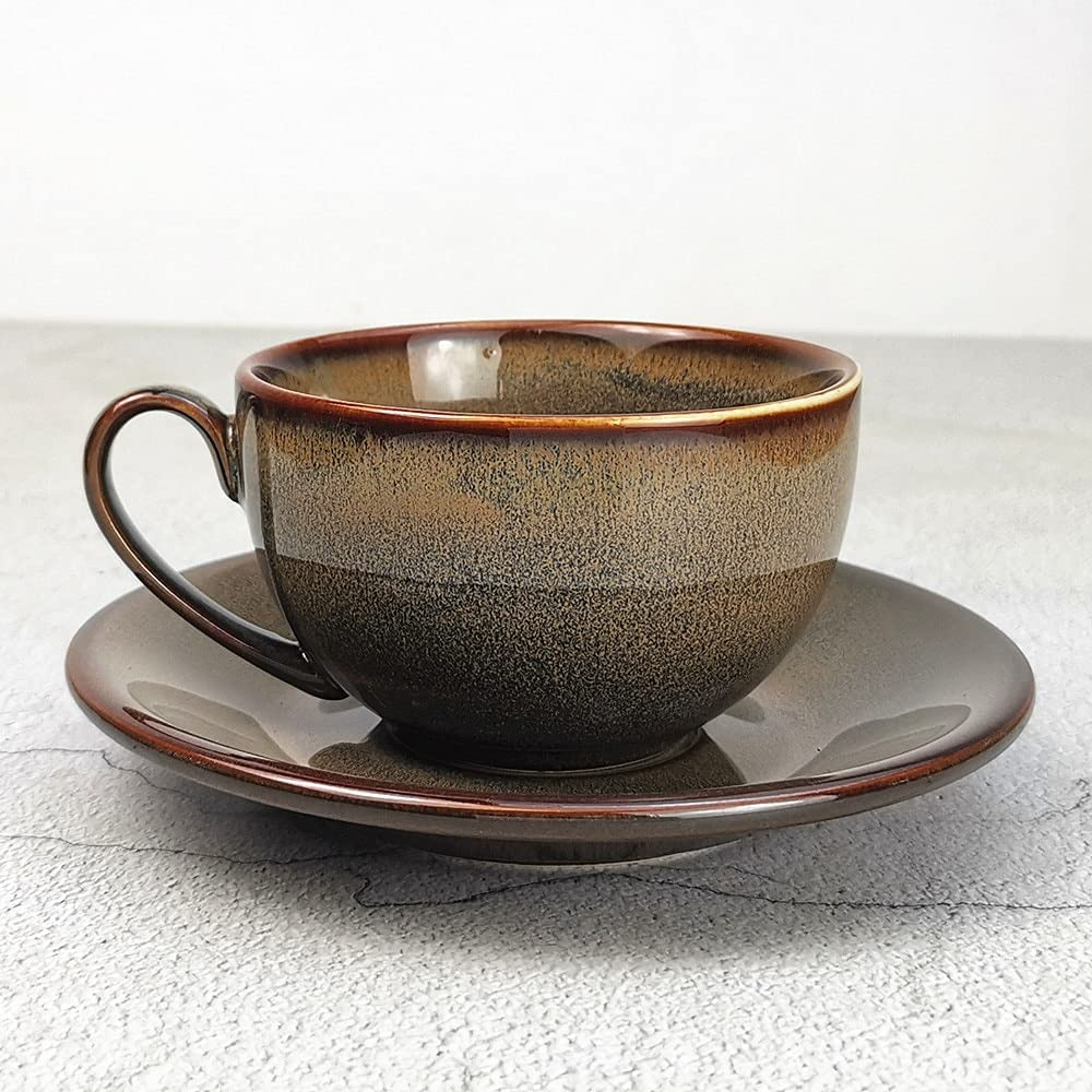 HUODIAN Chinese Ceramic Special price for a limited time Tea Cup White Dr Handle with Many popular brands Pottery