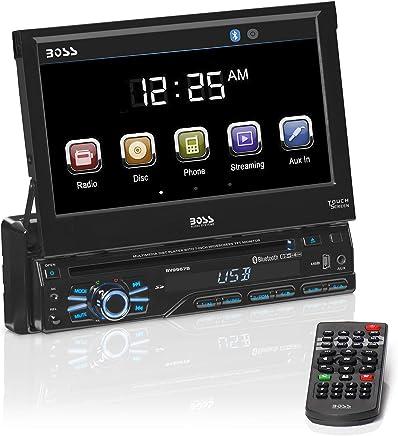 BOSS Audio BV9967B Single Din, Touchscreen, Bluetooth, DVD/CD/MP3/