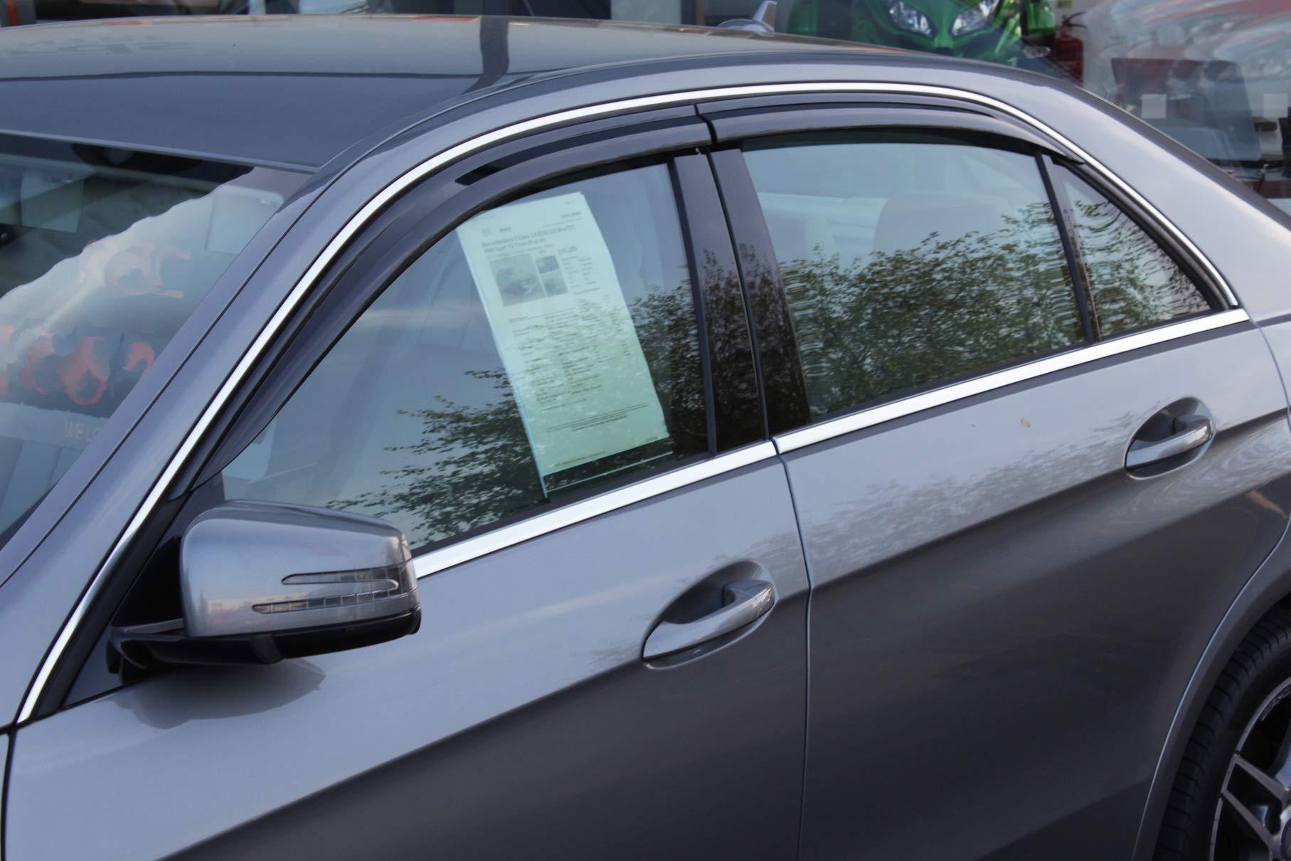 Autoclover Wind Deflectors Set for Suzuki Celerio 2014+ 4 pieces