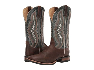 Ariat Relentless Short Round (Latigo Tan/Lucky Clover) Cowboy Boots