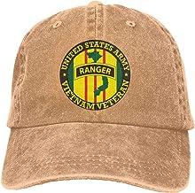 JKJS LDFO Ranger Vietnam Veteran Unisex Baseball Cap Cowboy Hat Dad Hats Trucker Hat
