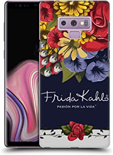 Official Frida Kahlo Blooms Red Florals Hard Back Case Compatible for Samsung Galaxy Note9 / Note 9