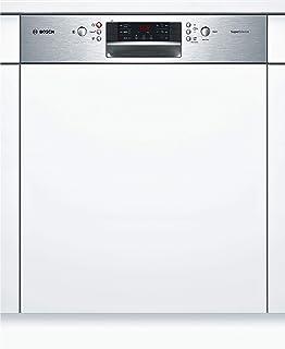 Bosch SMI46JS03E Serie 4 - Lavavajillas integrado (A++, 60 cm, 262 kWh/año, 13 MGD, acero inoxidable, supersilencioso, pantalla de 7 segmentos, secado extra, cesta VarioFlex)