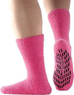 7ceda2b04d2d Non Skid Hospital Socks No Slip Socks – Best Fuzzy Gripper Socks - Slipper  Socks