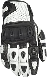 Cortech Impulse ST Adult Street Bike Motorcycle Gloves - White/Black/X-Large