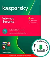 Kaspersky Internet Security (Windows / Mac / Android) Latest Version - 1 User, 3 Years (Code emailed in 2 Hours - No CD)