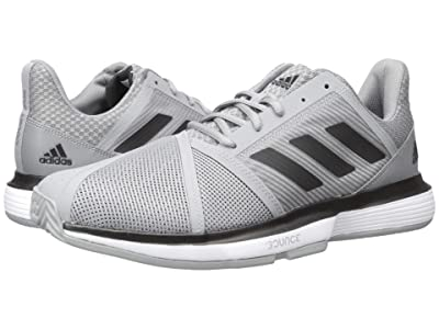 adidas CourtJam Bounce (Grey Three F17/Core Black/Footwear White) Men