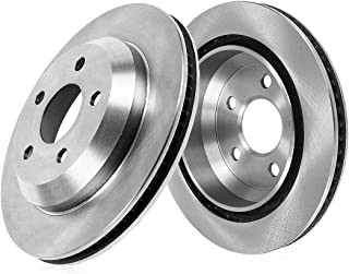 Callahan CRK02360 [2] REAR 356mm Vented 5 Lug Rotors [ for Audi A7 A8 Quattro S6 S7 S8 ]