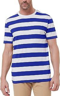 PJ Men's Crewneck Short Sleeve Striped T-Shirt