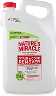 Nature's Miracle Stain and Odor Remover Dog, Odor Control Formula, Accushot Spray 1.33 Gal