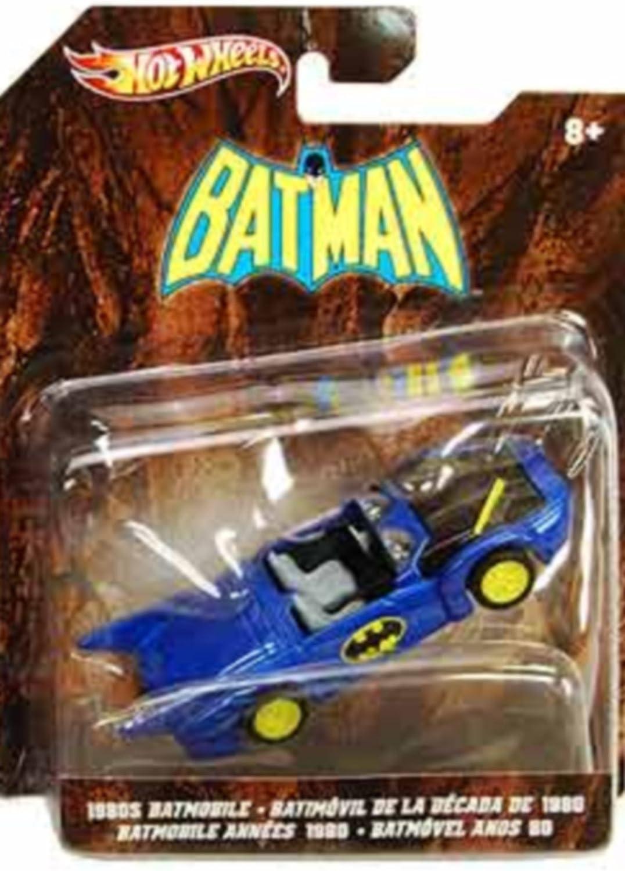 Hot Wheels Batman 1980s Batmobile Diecast Replica