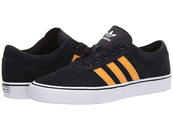 adidas Skateboarding  Adi-Ease (Core Black/Tactile Yellow F17/Footwear White) Skate Shoes