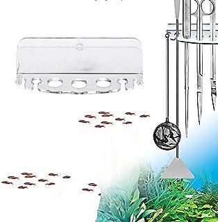 Porte-Outil Aquatique pour Aquarium en Acrylique, Boîte De Rangement pour Ferme De Poissons D'Ornement, Porte-Outil De Coupe