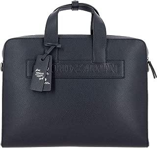 Luxury Fashion   Emporio Armani Mens Y4P117YSL5J80033 Blue Briefcase   Fall Winter 19