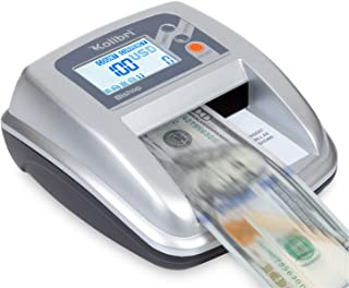 Kolibri Bishop Fake Currency Detector with 5 Advanced Counterfeit Detection Capabilities: UV, Magnetic, IR, Size and RGB. ...