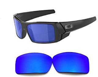 Galaxy Replacement lenses For Oakley Gascan Polarized Blue 100% UVAB