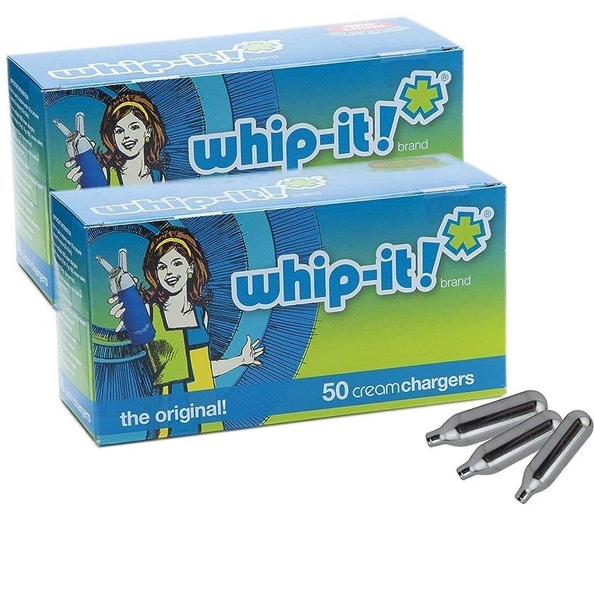調べる確保する運動Whip-it! ブランド:オリジナルホイップクリームの充電器(100 パック)