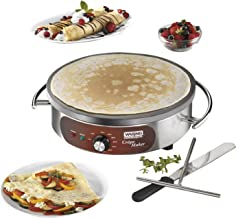 stainless steel crepe maker