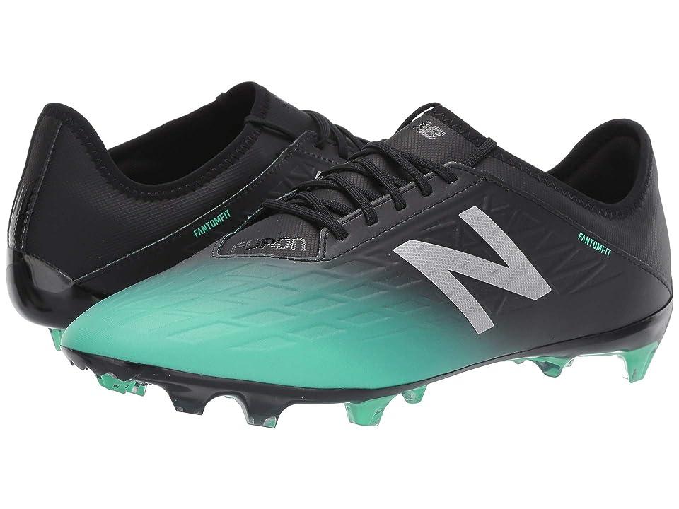 New Balance MSFMFv5 Soccer (Neon Emerald/Black) Men's Soccer Shoes