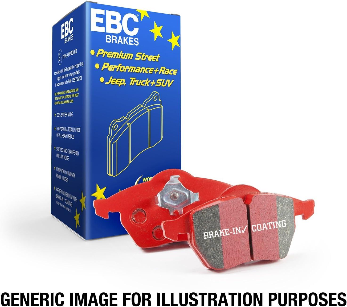 EBC Brakes DP3986C Redstuff Ceramic Low Pad Cheap mail order specialty Regular store store Dust Brake