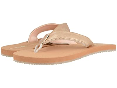 TOMS Gabi (Champagne Shimmer Synthetic) Women