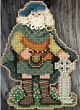 Scotland Santa Beaded Counted Cross Stitch Christmas Ornament Kit Mill Hill 2015 Celtic Santas MH205301