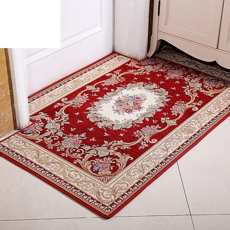European-Style Floor Mats Doormat Door,Mats in The Hall Bathroom,Absorbent,Anti-skidding,Household Use,Entrance Doormat Doormat-A 90x140cm(35x55inch)