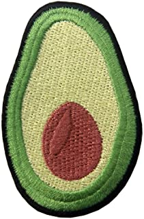 Avocado Cute Fruit Embroidered Applique Iron On Sew On Patch
