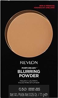 Revlon PhotoReady Pressed Face Powder with Brush, Longwearing Oil Free, Fragrance Free, Noncomedogenic Makeup, Medium/Deep...