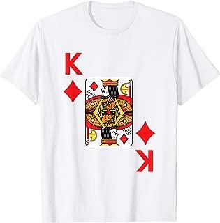 King of Diamonds Tshirt poker card halloween costume shirt T-Shirt