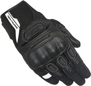 Alpinestars Highlands Leather Gloves (Small) (Black)