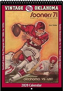 2020 Vintage Oklahoma Sooners Football Calendar