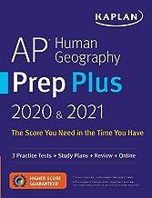 AP Human Geography Prep Plus 2020 & 2021: 3 Practice Tests + Study Plans + Review + Online (Kaplan Test Prep) PDF