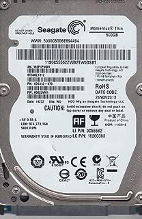 ST500LT012 PN 1DG142-020 FW 1002YAM1 W3P WU Renewed Seagate 500GB SATA 2.5 Hard Drive