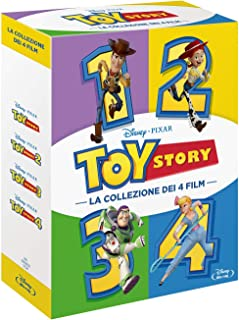 Toy Story Collection (4 Blu-Ray) [Blu-ray]