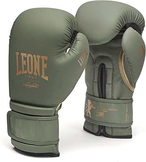 Guantes de Boxeo Unisex para Adulto LEONE 1947 Blue Ed