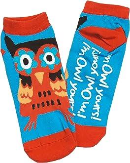 LazyOne Girls I/'m Owl Yours Kids Socks