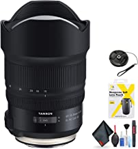 Tamron SP 15-30mm f/2.8 Di VC USD G2 Lens for Canon EF for Canon EF Mount + Accessories (International Model)