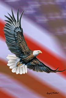 Best eagle flying with flag Reviews