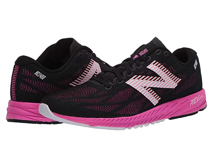 New Balance  1400v6 (Black/Peony) Womens Running Shoes