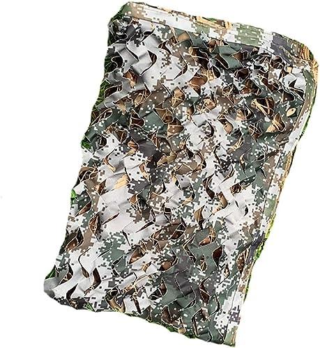 JXYY Réseau blindé de Blindage Anti-aérien de réseau de Camouflage MultiCouleure épais et MultiCouleure à Grandes Fleurs (Taille   4  8m)