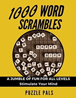 1000 WORD SCRAMBLES: A Jumble Of Fun For All Levels