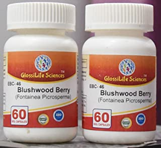 GlossiLife Sciences 120 Cap Blushwood Berry 20:1 Extract Capsules EBC-46