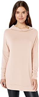 Daily Ritual Amazon Brand Women's Supersoft Terry Modern Funnel-Neck Tunic