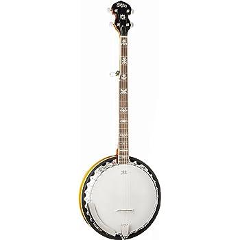 Washburn B10 5-String Banjo, Sunburst Gloss Finish