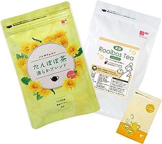 ティーライフ ママ・プレママサポート茶セット(たんぽぽ茶ブレンド・葉酸入ルイボスティー・ルイボスたんぽぽ茶お試しサイズ)